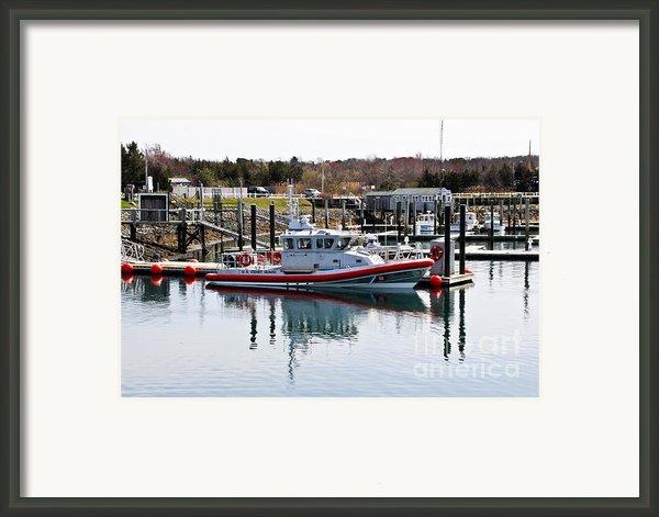Coast Guard Framed Print By Extrospection Art