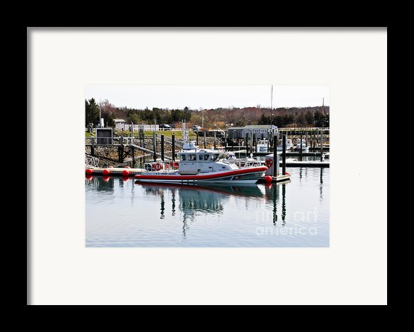 Coast Guard Framed Print By Extrospection Art