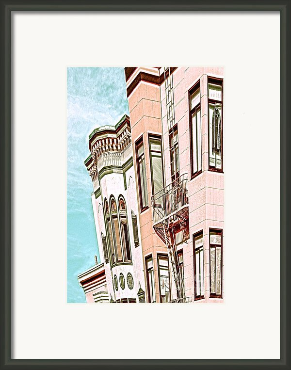 Coat In The Window Framed Print By Artist And Photographer Laura Wrede