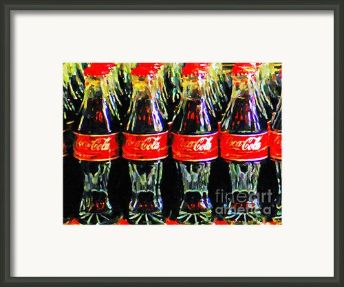 Coca Cola Coke Bottles Framed Print By Wingsdomain Art And Photography