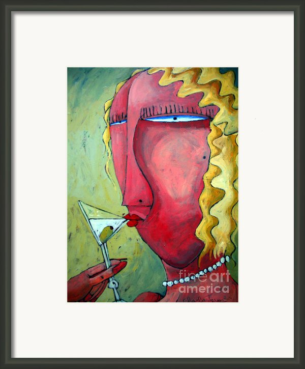 Cocktail Hour Framed Print By Charlie Spear