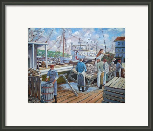 Cod Memories Framed Print By Richard T Pranke