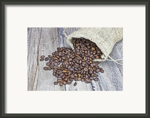 Coffee Beans Framed Print By Joana Kruse