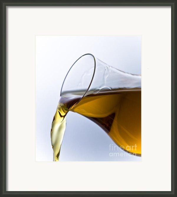 Cognac Framed Print By Frank Tschakert