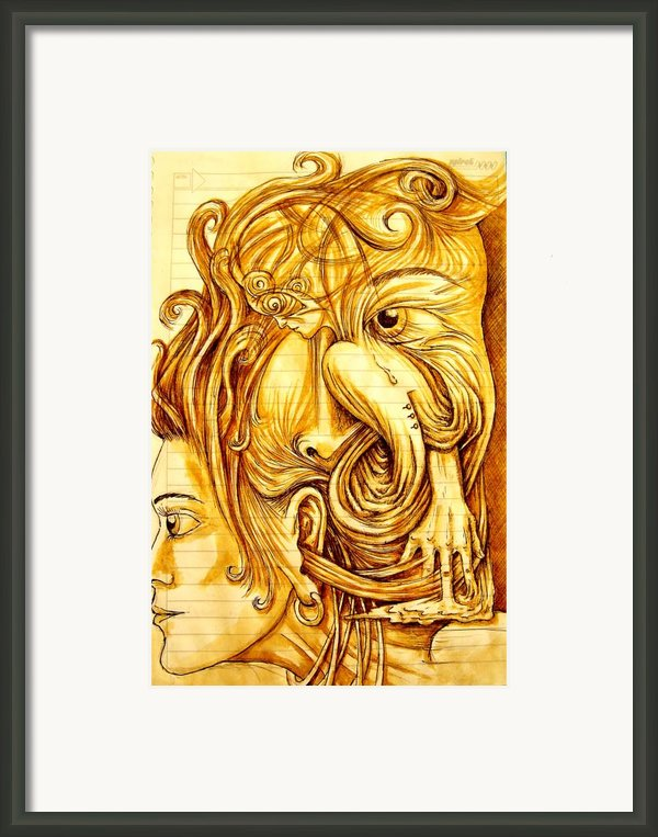 Cognitive Processes Framed Print By Paulo Zerbato