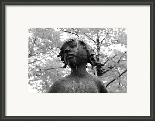Cold Girl Framed Print By Stefan Kuhn