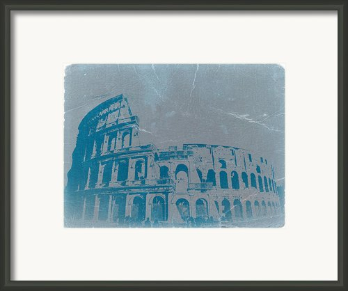 Coliseum Framed Print By Irina  March
