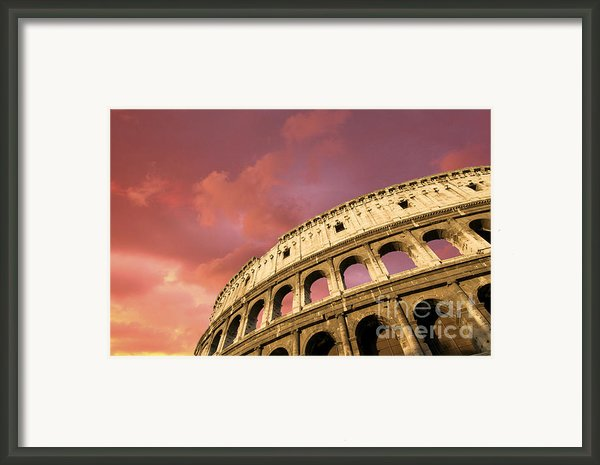 Coliseum. Rome. Lazio. Italy. Europe Framed Print By Bernard Jaubert