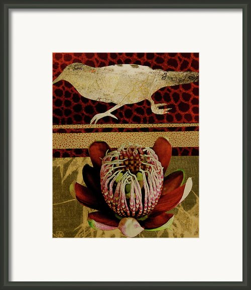 Collage A6 Framed Print By Betty Ohare