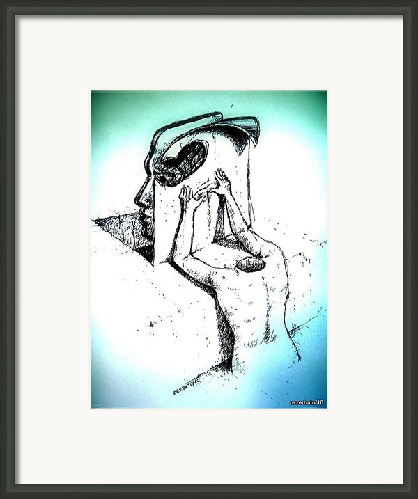 Collective Unconscious Framed Print By Paulo Zerbato