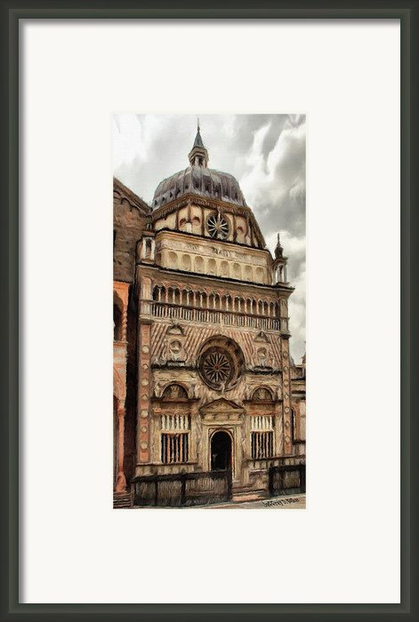 Colleoni Chapel Framed Print By Jeff Kolker