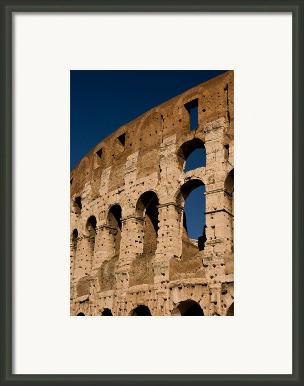 Colliseum 15 Framed Print By Art Ferrier