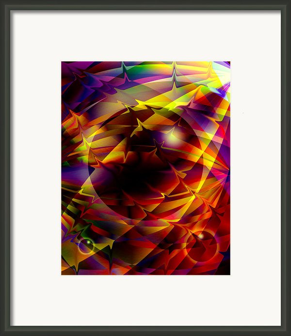 Color Design  Framed Print By Anthony Caruso