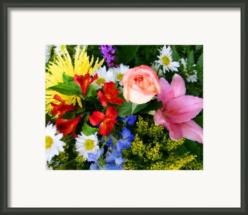 Color Explosion Framed Print By Kristin Elmquist