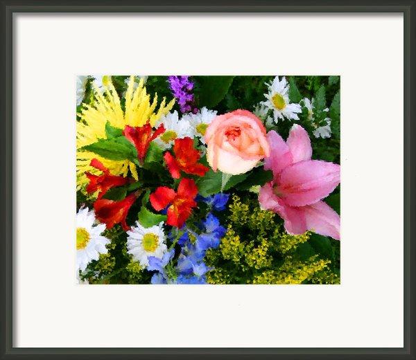 Color Explosion Framed Print By Kristin Elmquist