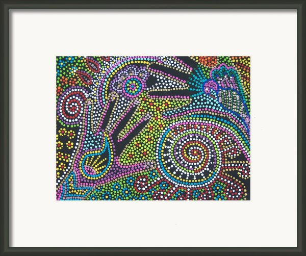 Color Fantasy Framed Print By Vijay Sharon Govender