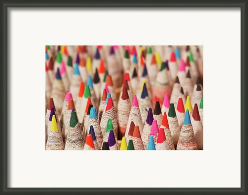 Color Forest Framed Print By Brandon Goldman