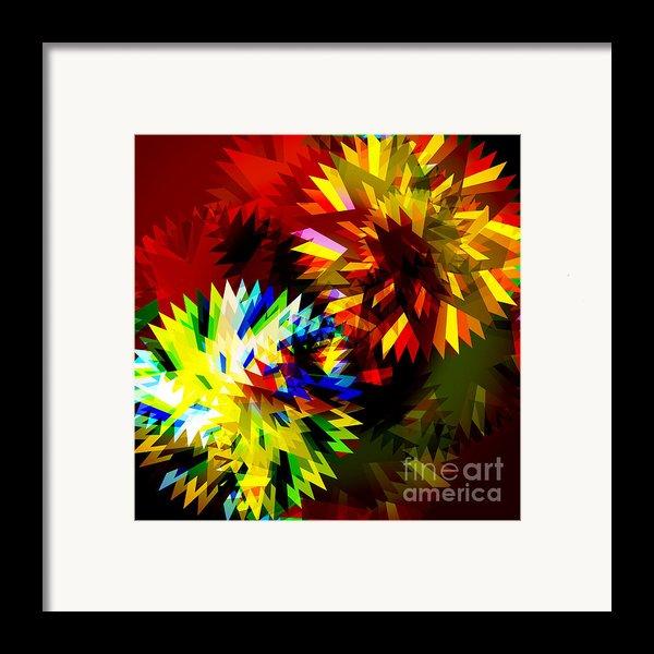 Colorful Blade Framed Print By Atiketta Sangasaeng