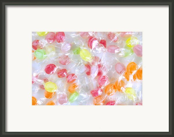 Colorful Candies Framed Print By Carlos Caetano