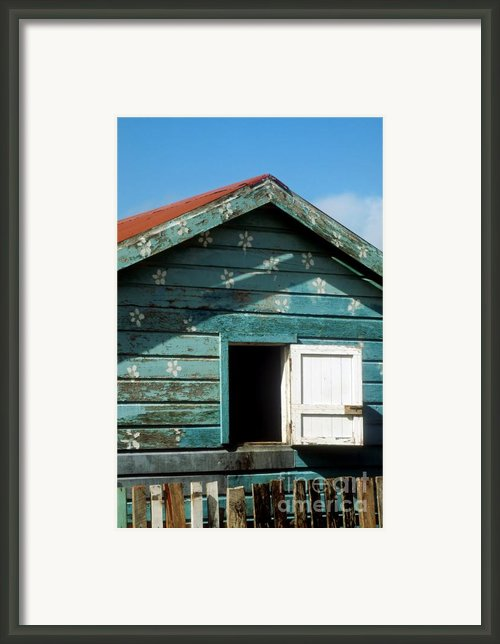Colorful Shack Framed Print By John Greim