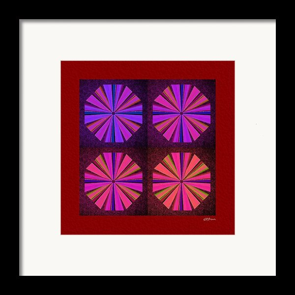 Colors Of The Windmill Framed Print By Greg Reed Brown