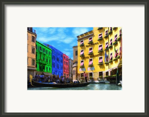 Colors Of Venice Framed Print By Jeff Kolker