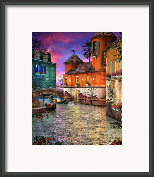 Colors Of Venice Framed Print By Joel Payne
