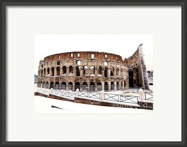 Colosseum Framed Print By Fabrizio Troiani
