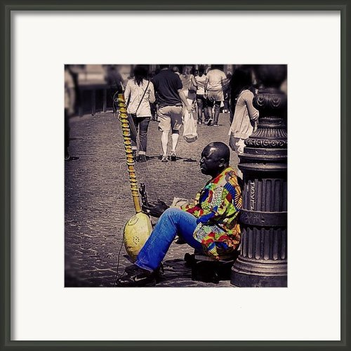 Colours In Rome Framed Print By Ilaria Agostini