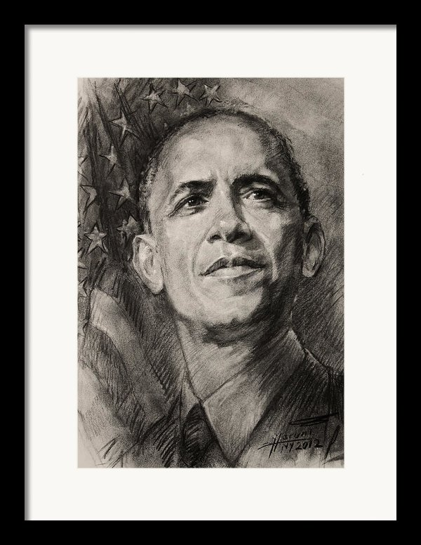 Commander-in-chief Framed Print By Ylli Haruni