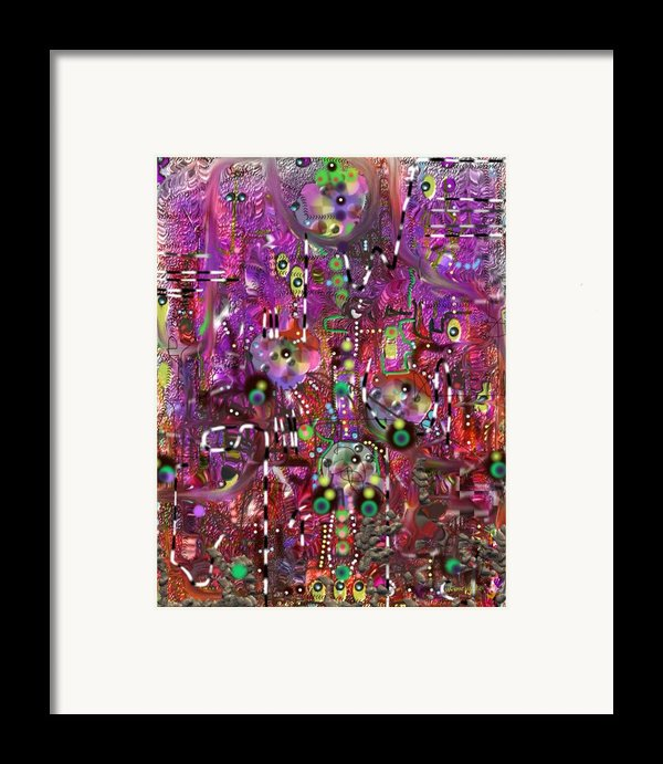 Complexity Framed Print By Marko Mitic