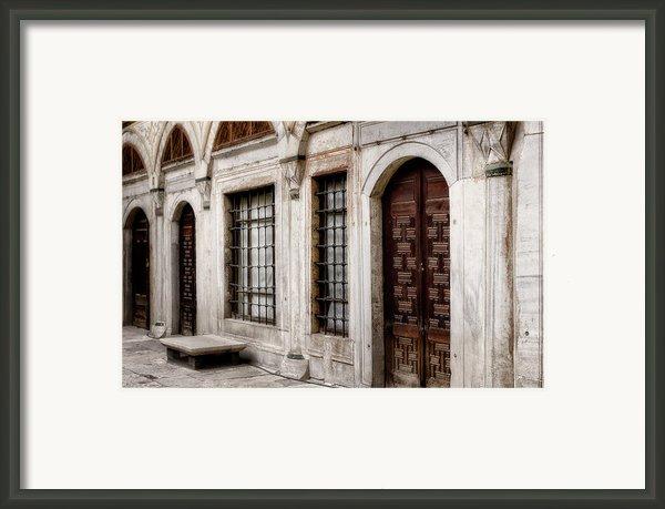 Concubine  Court Framed Print By Joan Carroll