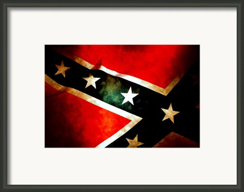 Confederate Patriot Flag Framed Print By Phill Petrovic