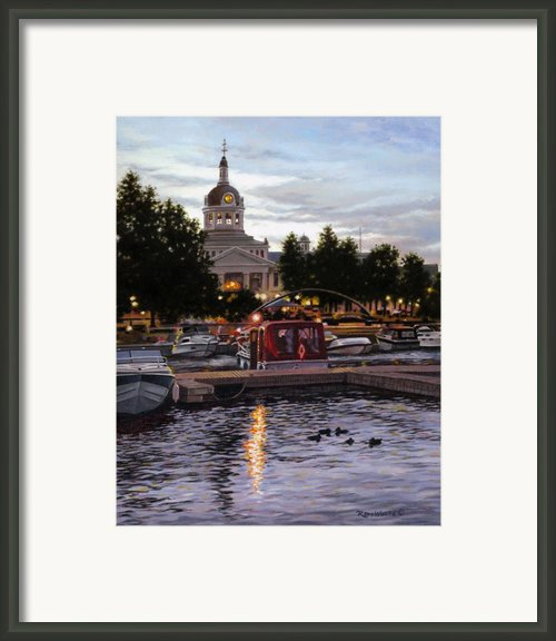 Confederation Park Framed Print By Richard De Wolfe