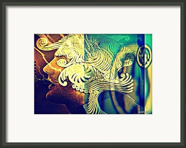 Confused Meanderings Framed Print By Paulo Zerbato