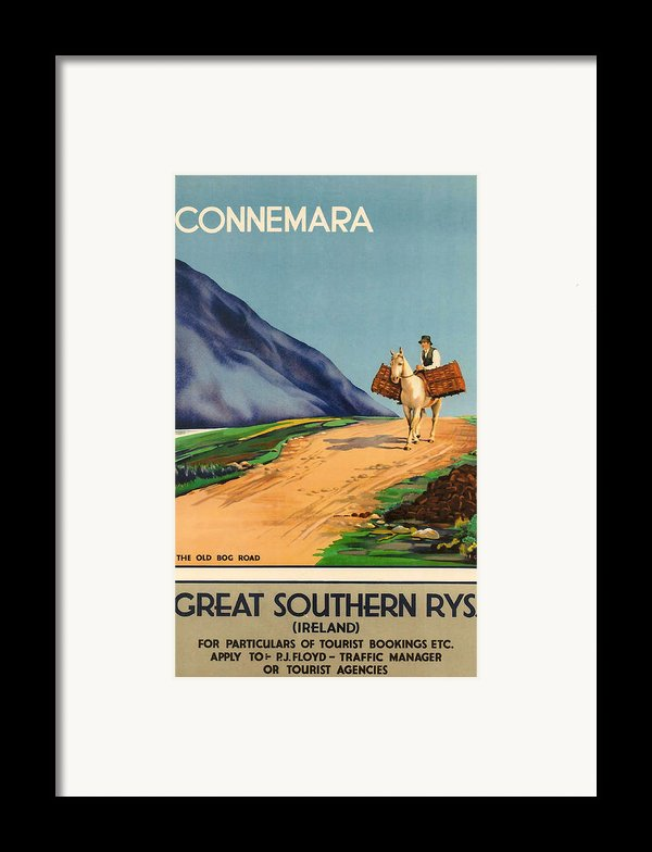 Connemara - Ireland Framed Print By Nomad Art And  Design