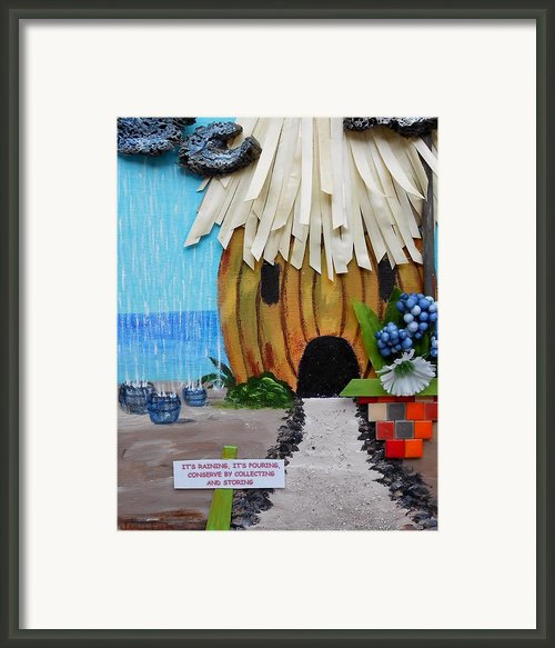 Conserve Framed Print By Jamie Frier