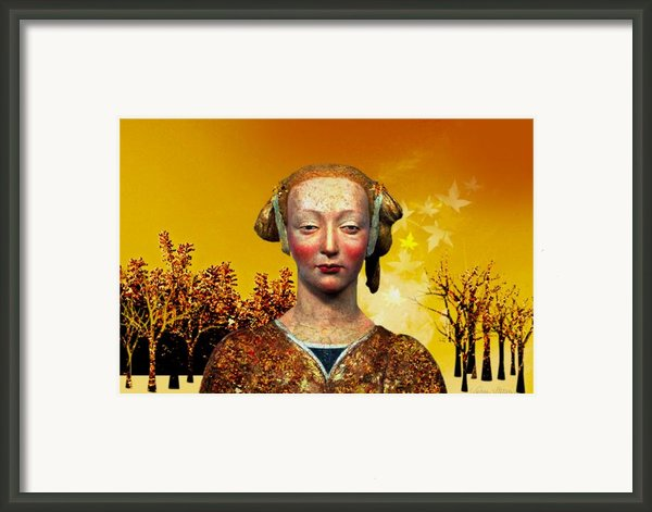 Constance  Framed Print By Sabine Stetson