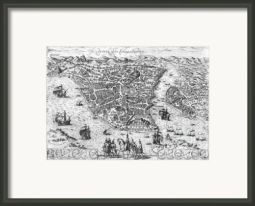 Constantinople, 1576 Framed Print By Granger