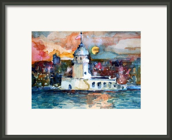 Constantinople Turkey Framed Print By Mindy Newman
