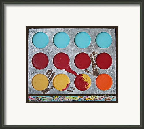 Containment - 2012 Framed Print By Tam Ishmael - Eizman