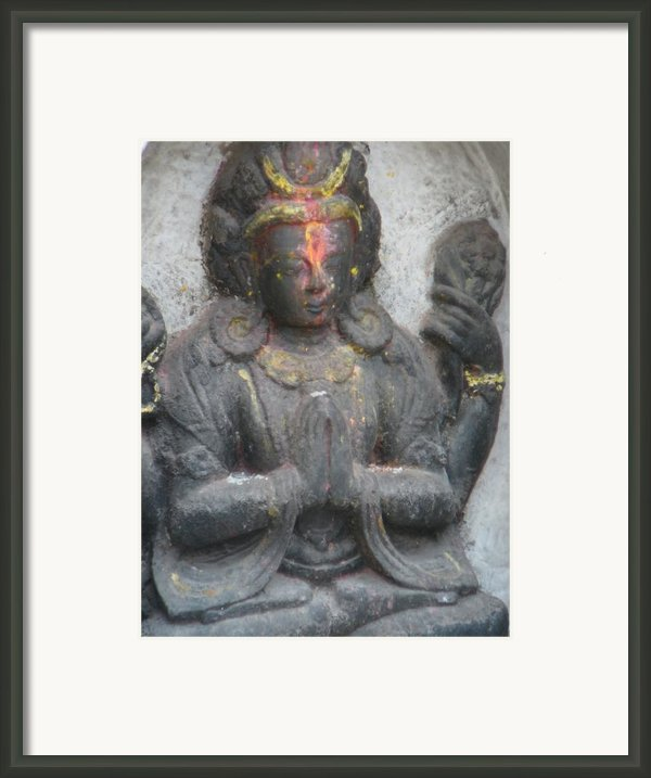 Contemplation Framed Print By Dagmar Ceki