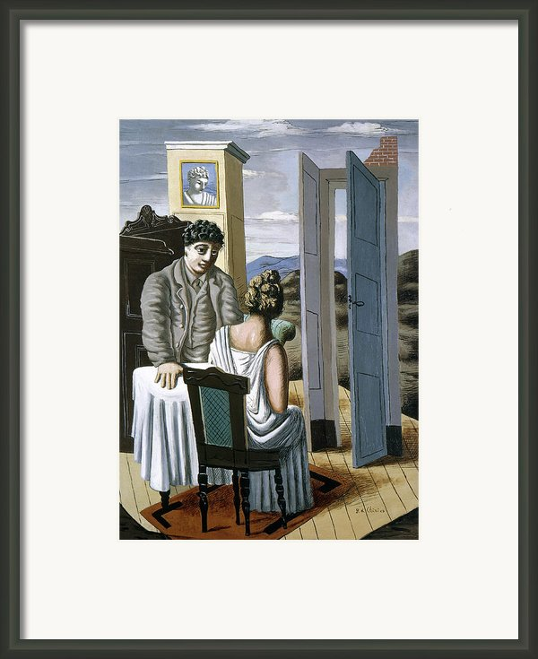 Conversation Among The Ruins 1927 Framed Print By Granger