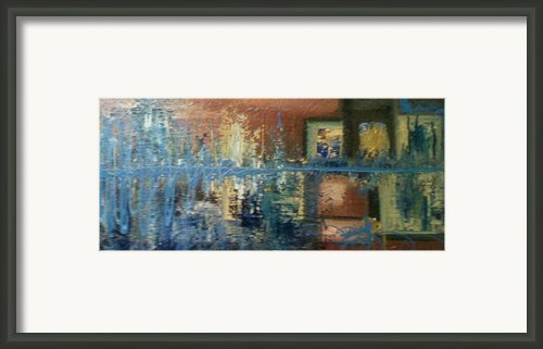 Conversation Piece Framed Print By Robert Anderson