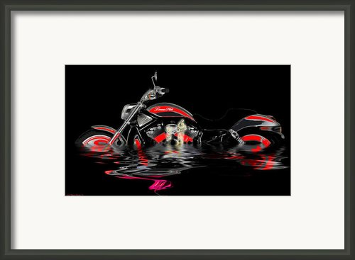 Cool It  Framed Print By Wayne Bonney