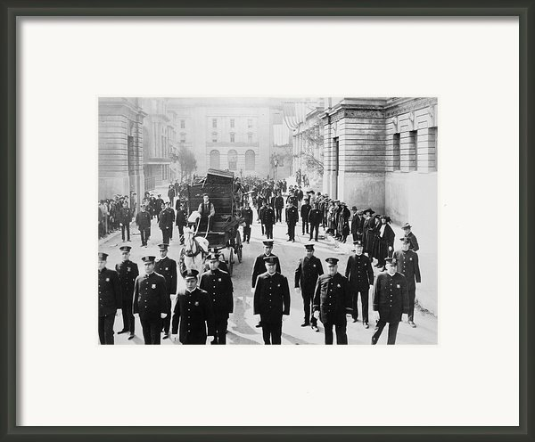 Cops, 1922 Framed Print By Granger