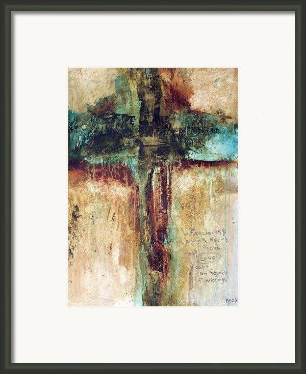 Corinthians Framed Print By Michel  Keck