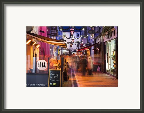 Cork, County Cork, Ireland A City Framed Print By Peter Zoeller