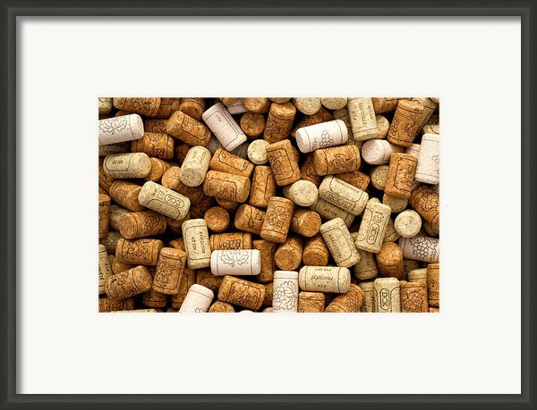 Corks Framed Print By Rob Tullis