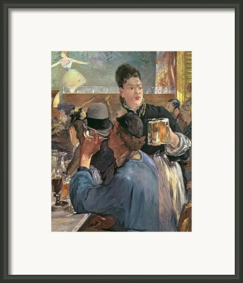 Corner Of A Cafe-concert Framed Print By Edouard Manet